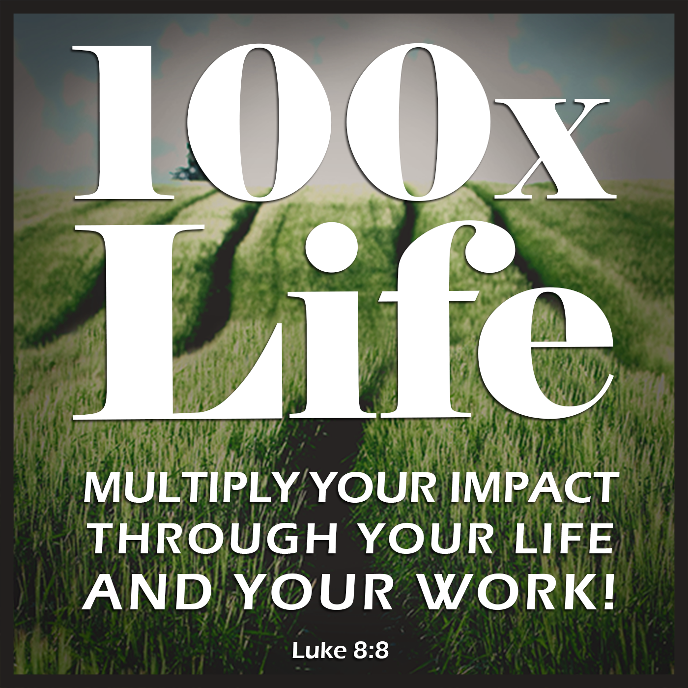 Please help me make a 100X Impact on the world with this Podcast Cover!