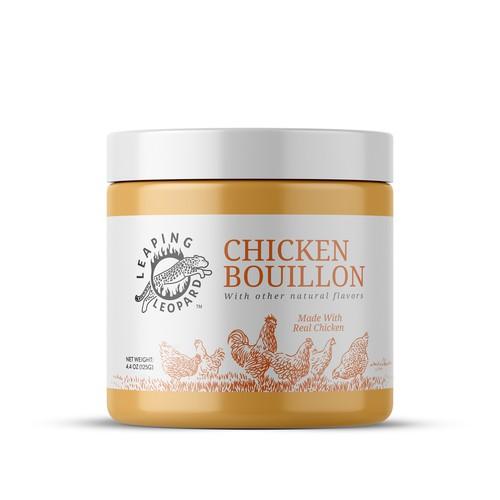 Chicken Bouillon Package Design