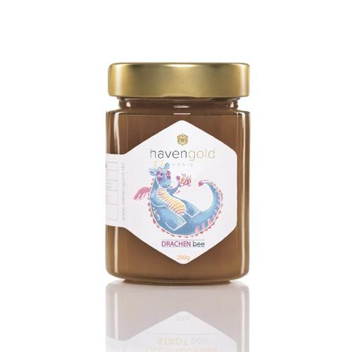 Label Fantasy Honey for kids