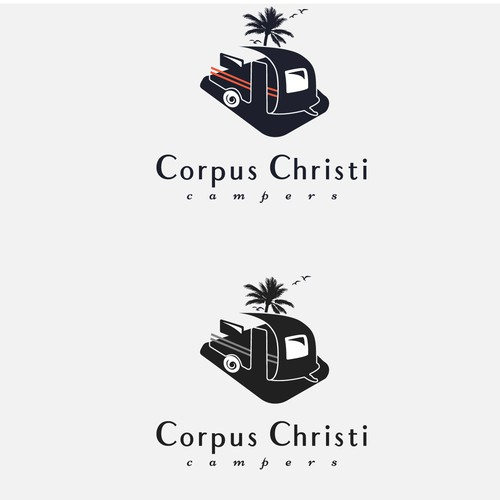 Concept for a beach logo