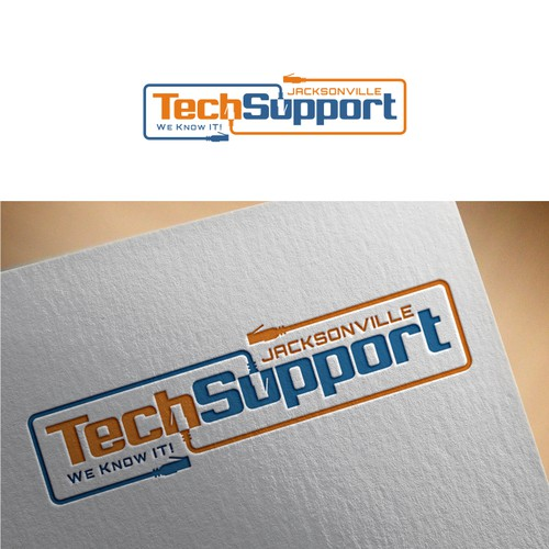Create Modern Logo Design for Local IT Support Company
