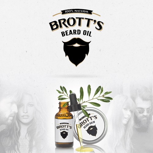 Logo Beard oil