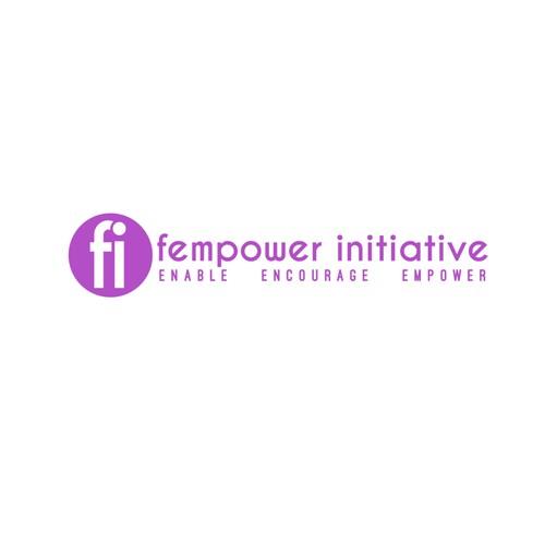 Concept logo for women's nonprofit