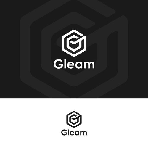 Gleam monogram logo