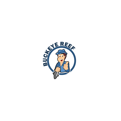 character logo for BUCKEYE REEF