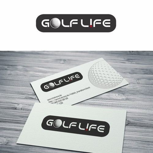 Golf Life Belt Logo