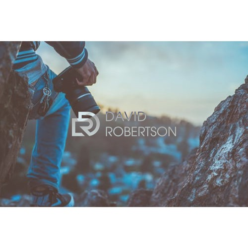 Stylish and simple logo for a up and coming photographers portfolio website