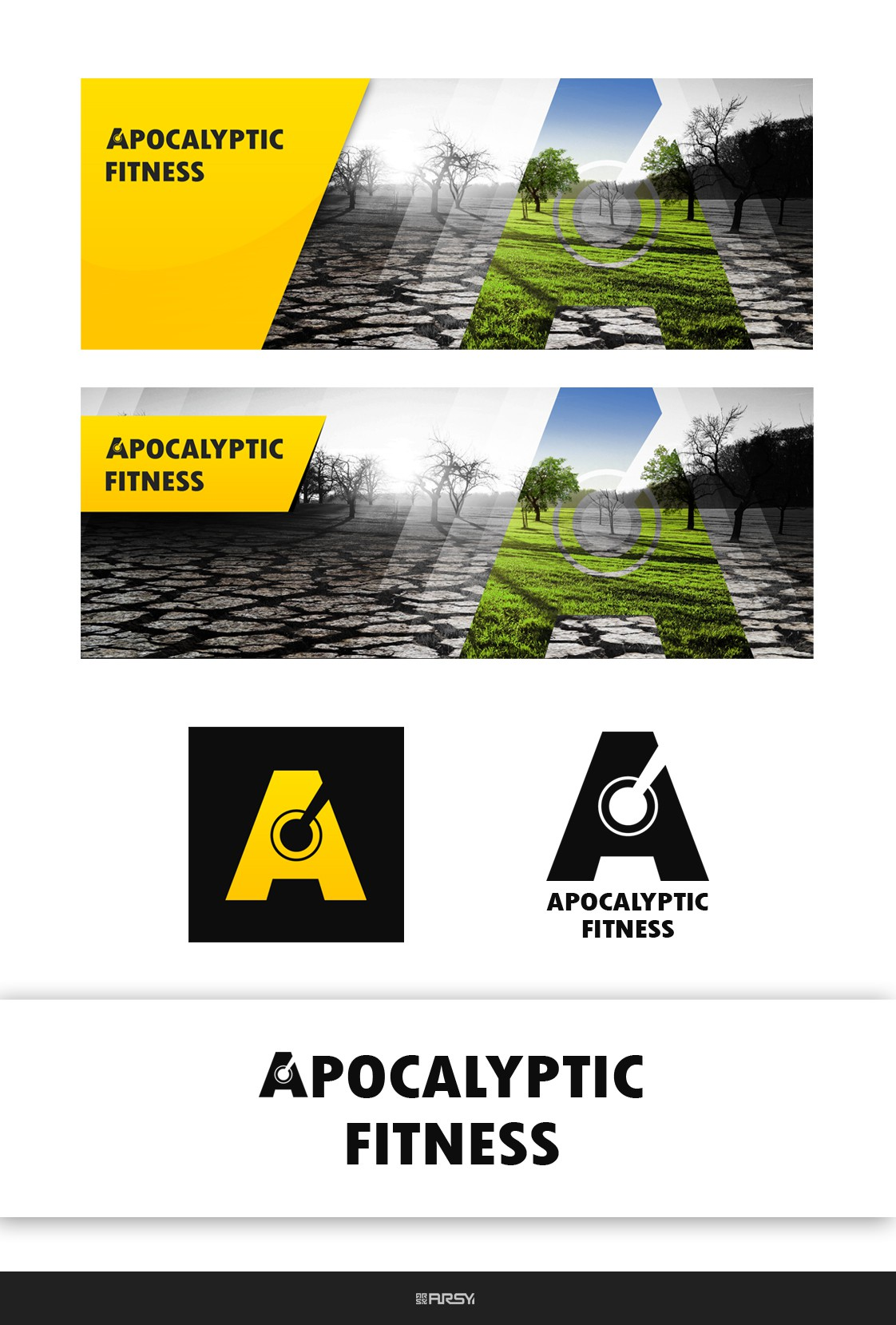 Create inspiration to get fit enough to survive the apocalypse