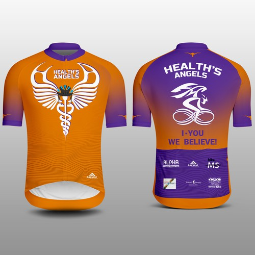 Health's Angels Cycling Jersey