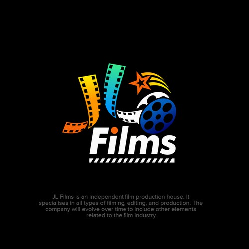 Design a cool logo for JL Films!
