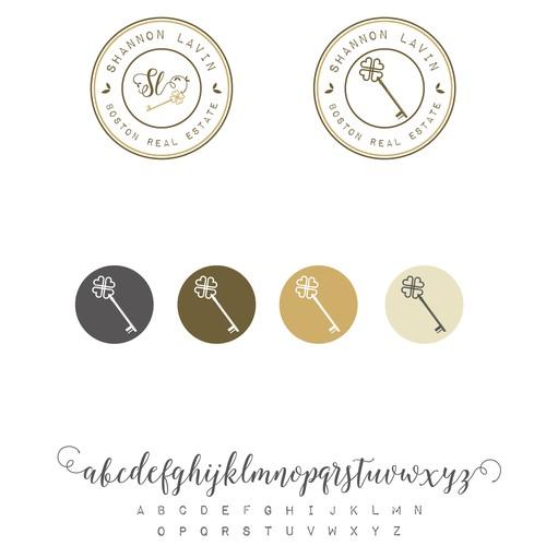 vintage key logo