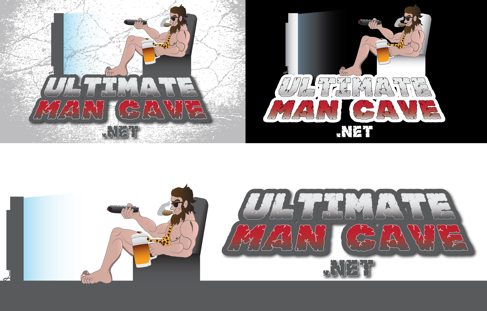 New logo wanted for Ultimate Man Cave .net