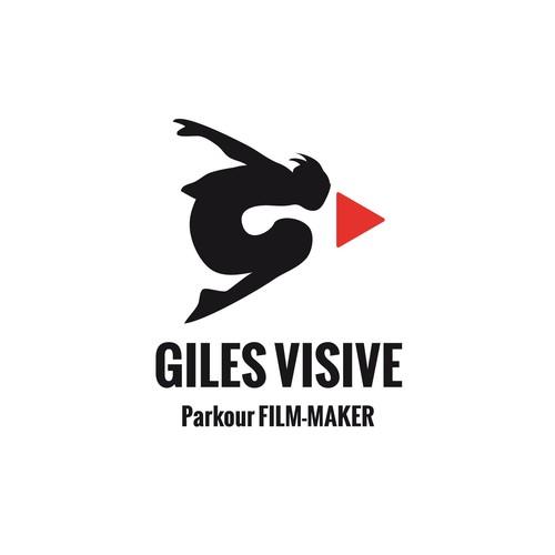 Logo for Giles Visive - Parkour Film-maker