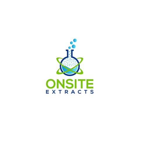 Plant extraction company Logo