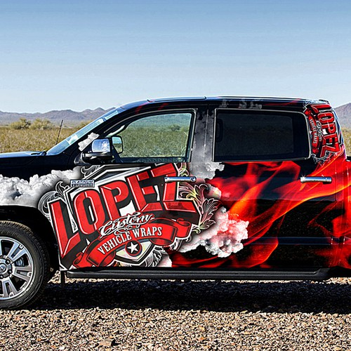Lopez Vehicle Wraps