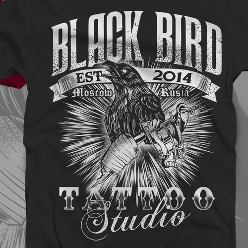 tattoo studio tshirt