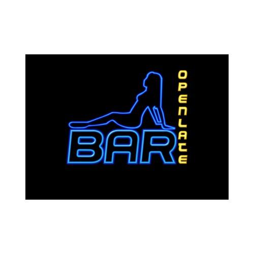 Neon Bar Sign Design