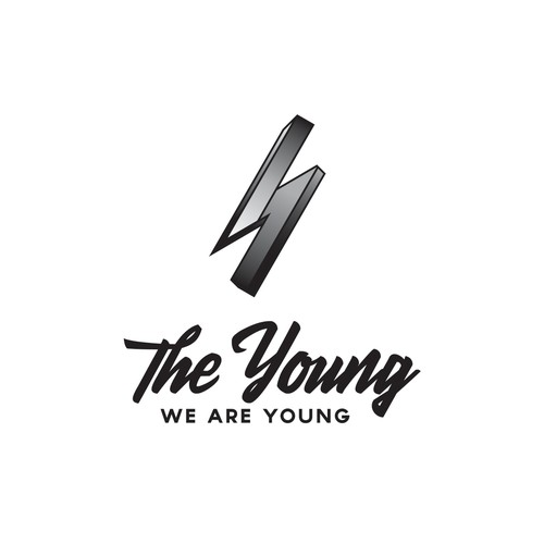 THE YOUNG Logo and branding