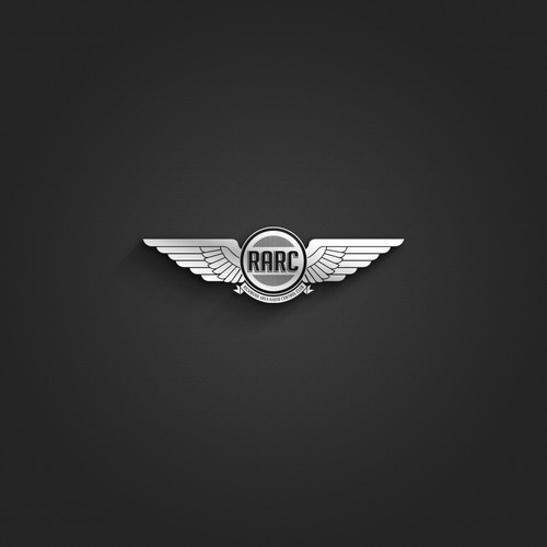 Create a hip, compelling logo for a model aircraft flying club