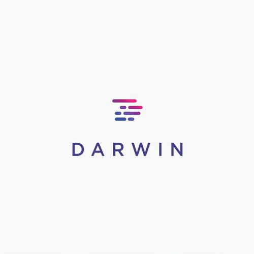 Futuristic Logo for the Evolution of Programming - Darwin