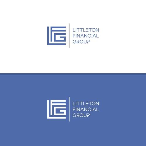 Logo for a financial company