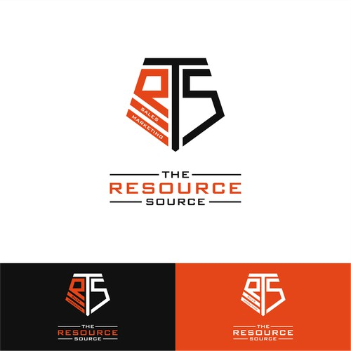 logo concept for the resource source