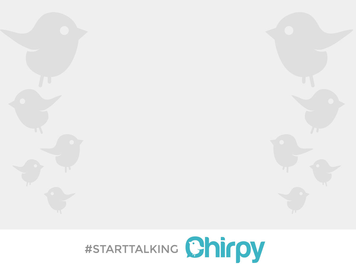 poster for chirpy