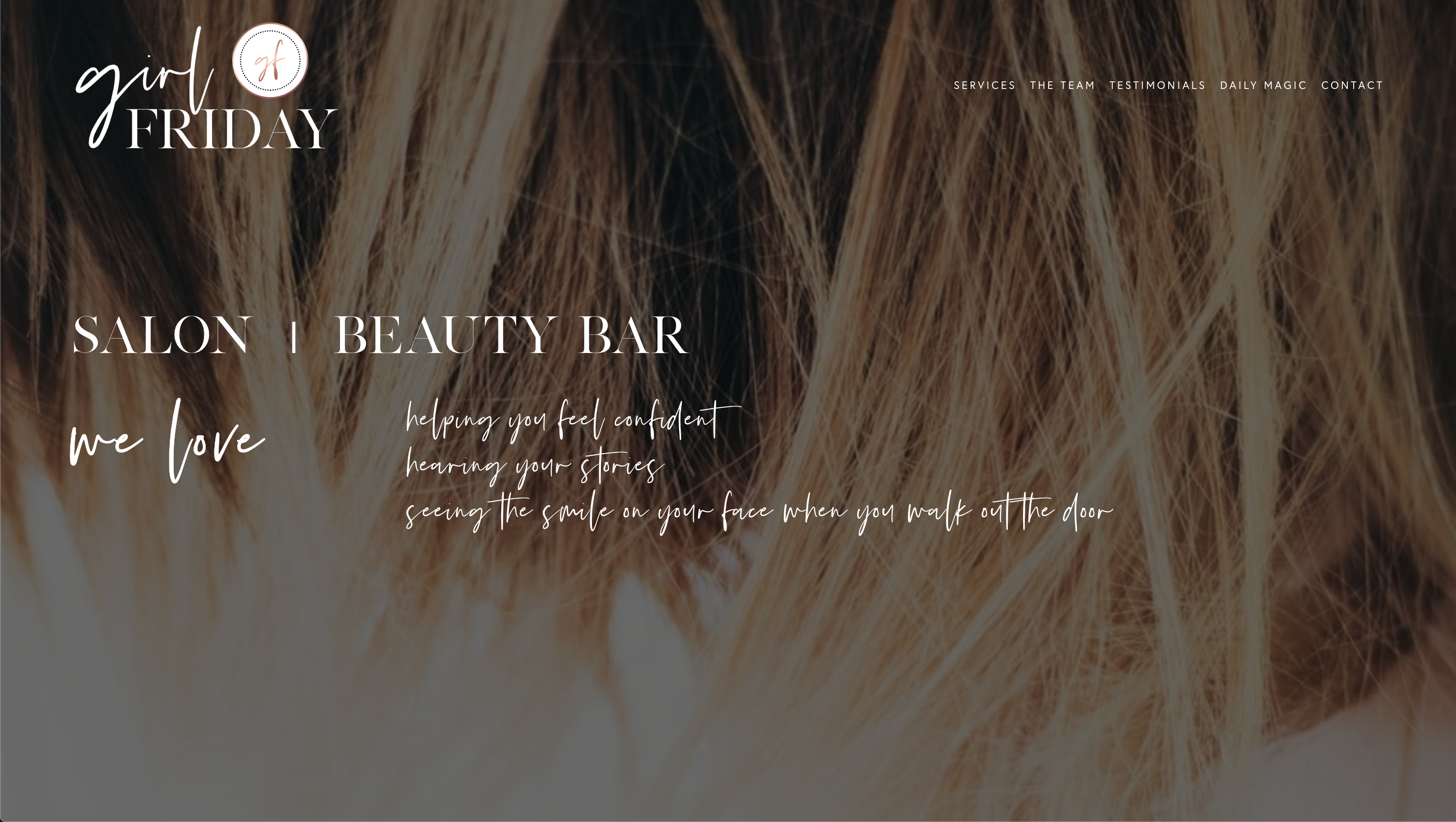 Girl Friday Salon/Beauty Bar