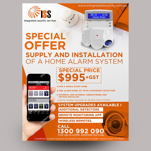 Flyer for ISS