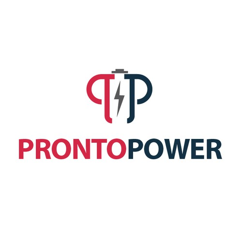 Create a capturing and empowering logo for ProntoPower