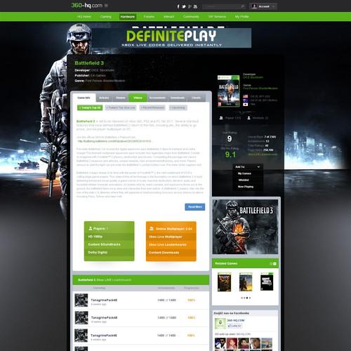 Xbox Game portal
