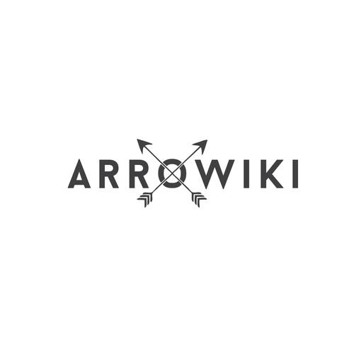 Simple & Striking Logo for Archery Encyclopedia