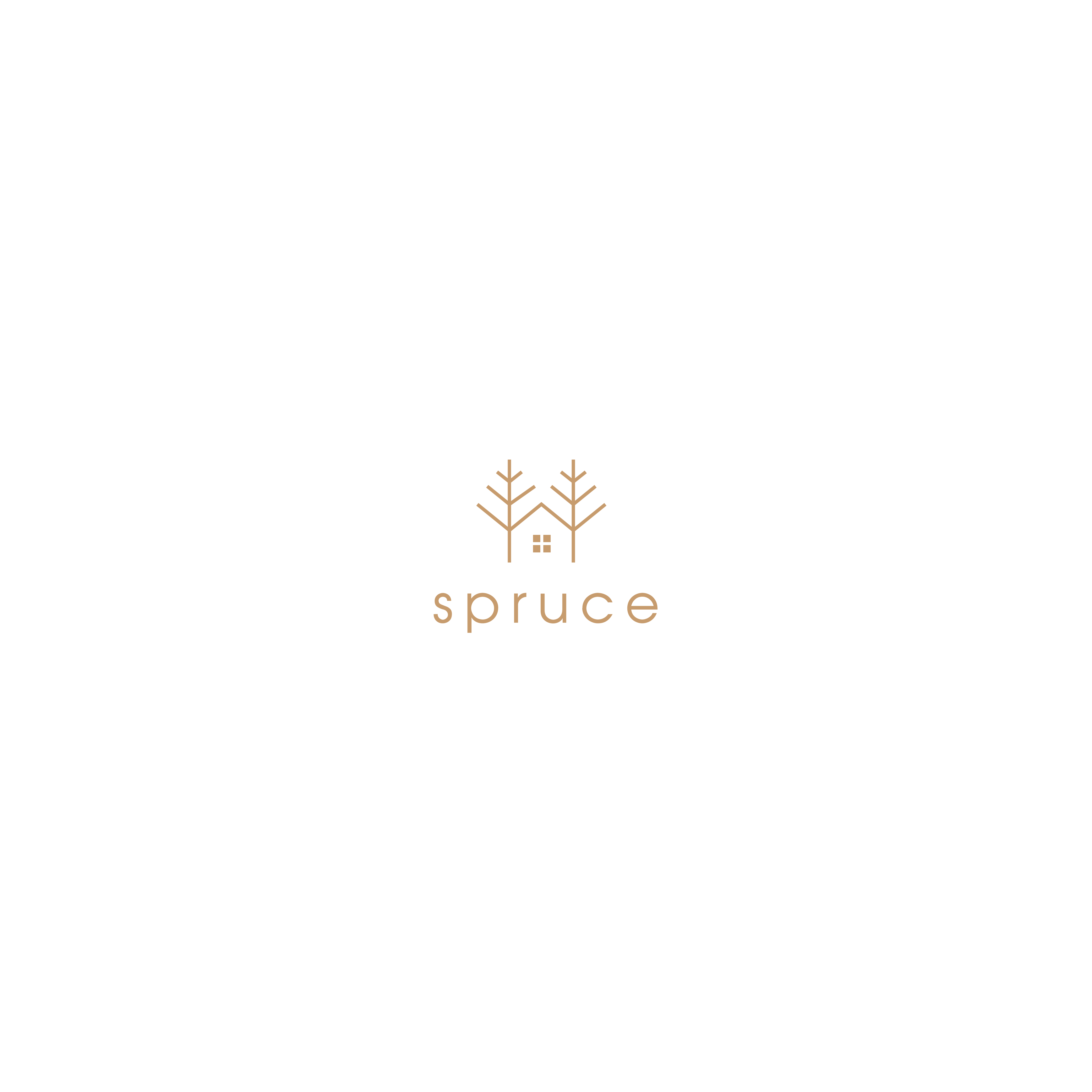 """Up and coming Interior decorator needs simple logo for """"Spruce"""""""