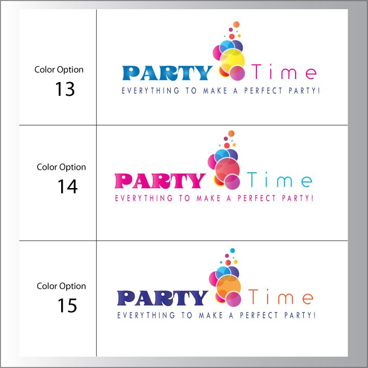 PARTY STORE LOGO FOR CLASSY BUT FUN PARTY STORE IN CABO SAN LUCAS, MX.