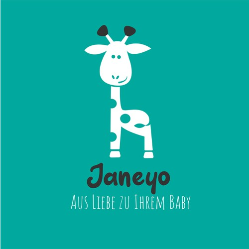 Logo for a german baby product company