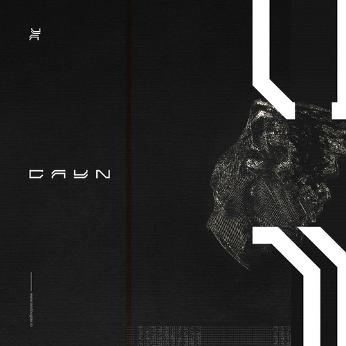 Primordial mark for techno producer and DJ CAYN