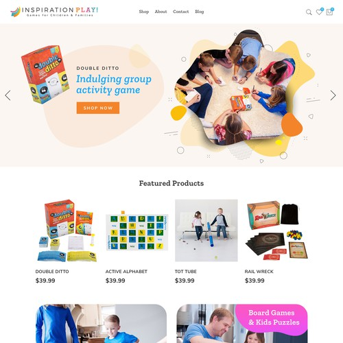 Shopify store for kids