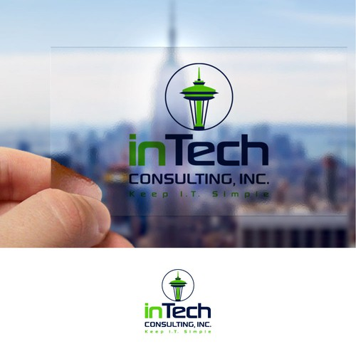 Create an eye catching logo for an I.T. company