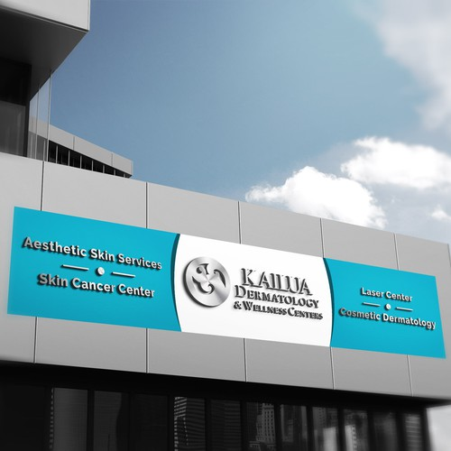 Design of a professional business sign