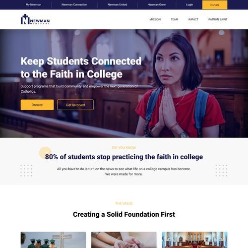 College Campus Website