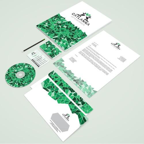 CATLANNA Logo & Stationery Design