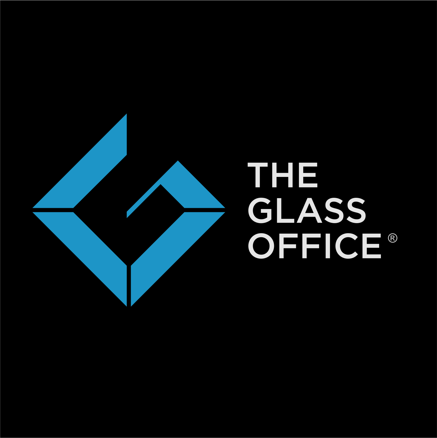 Design a powerful logo for glass office products
