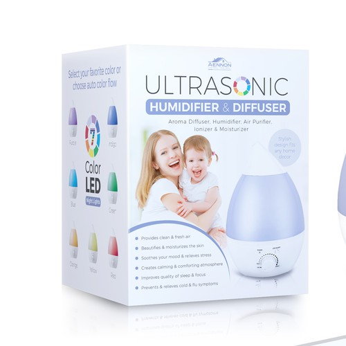 Packaging Design for Humidifier