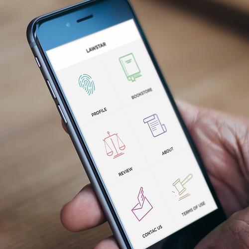 Mobile App Design Bookstore