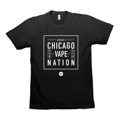 Chicago Vape Nation- evolved logo needed from orignal design