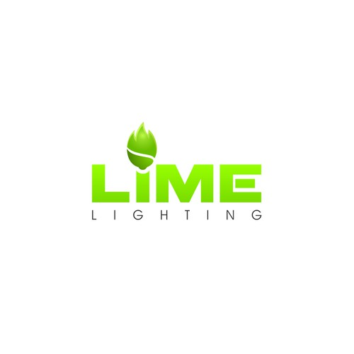 LED lighting fixtures retail company logo.