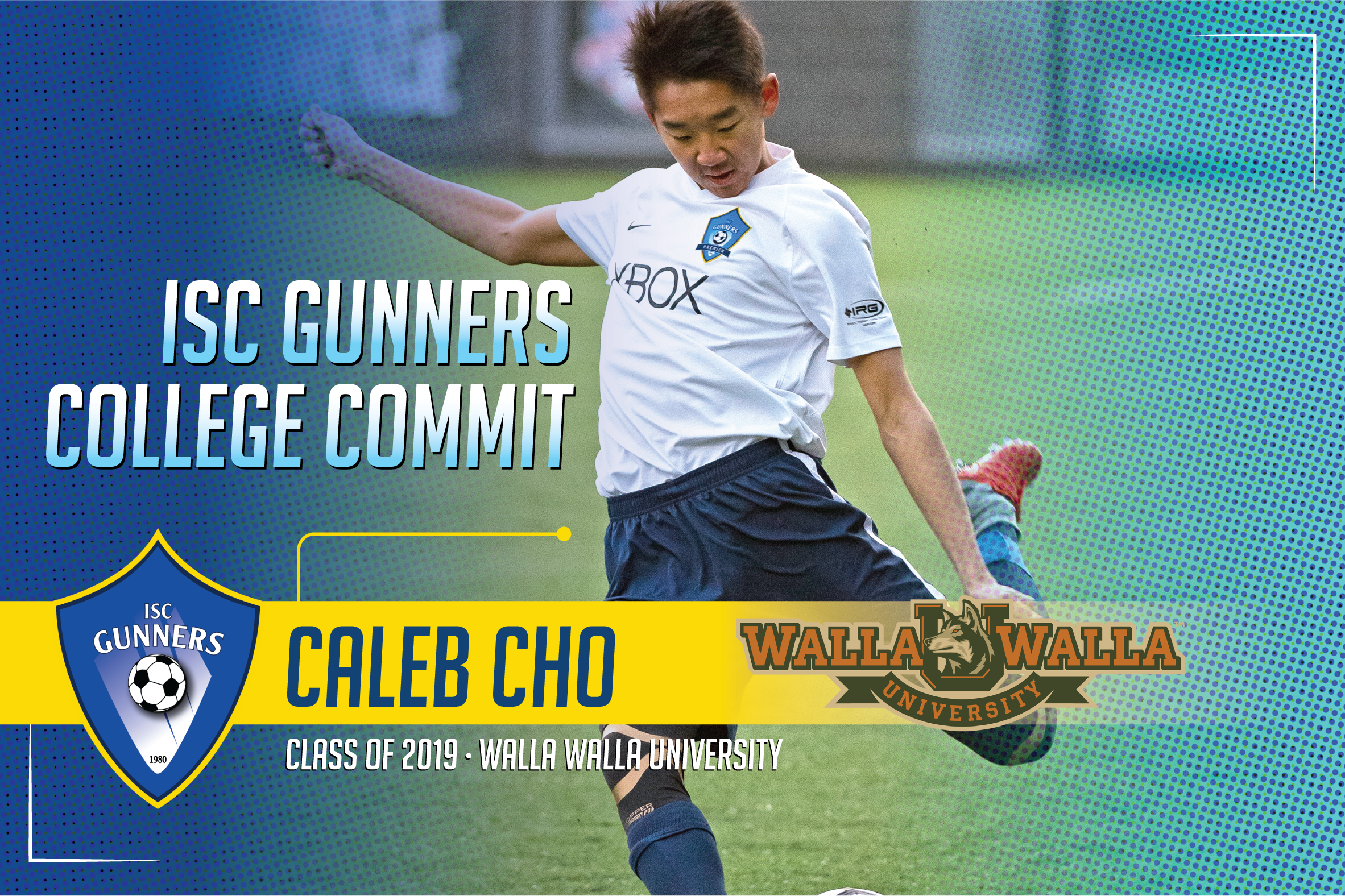 ISC Gunners College Commitments #3 (Only 1 x Graphic/Flyer)