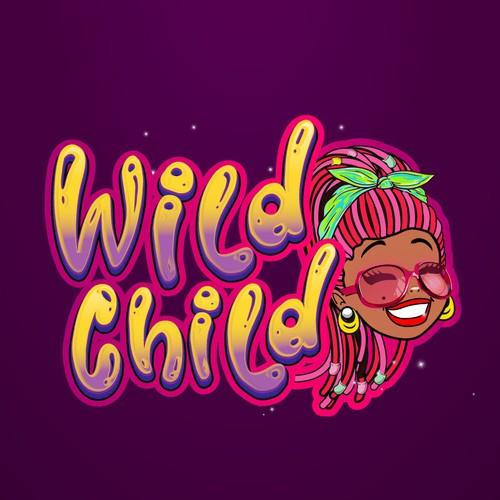 cartoon logo for a children brand