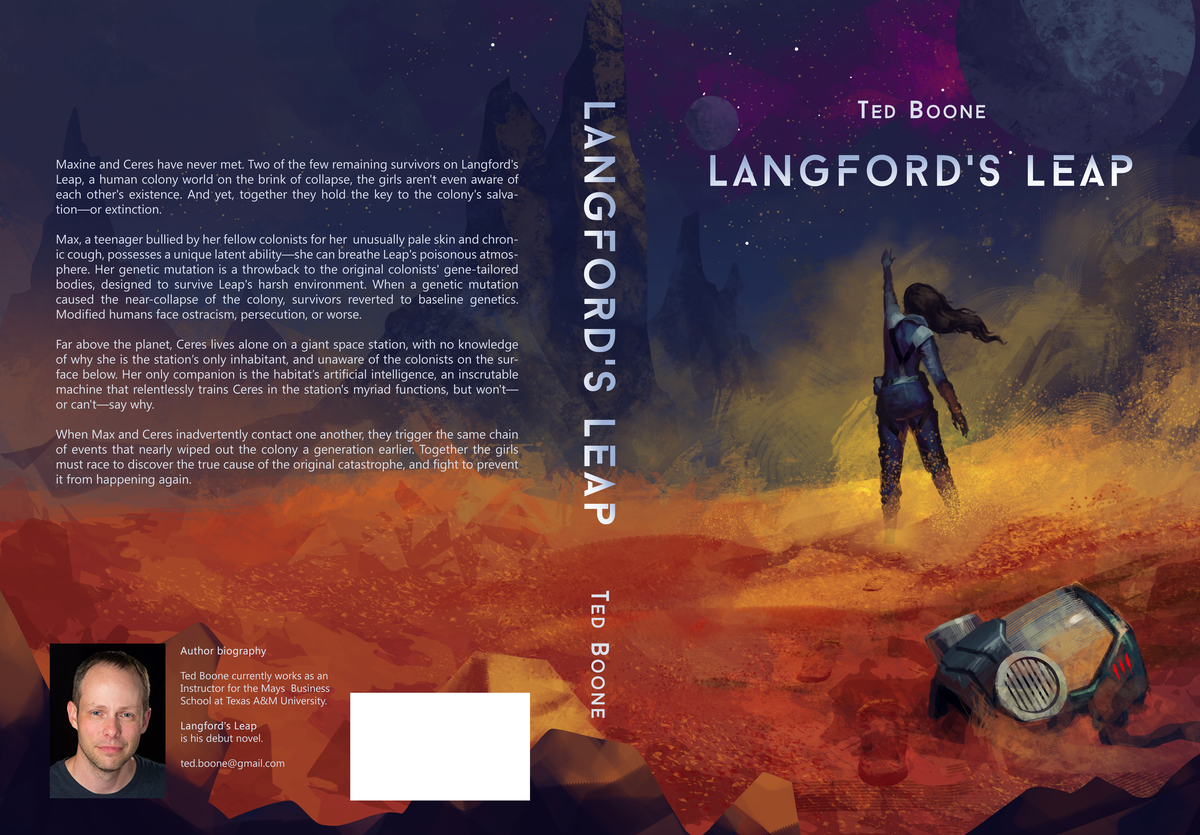 Artwork from book cover design