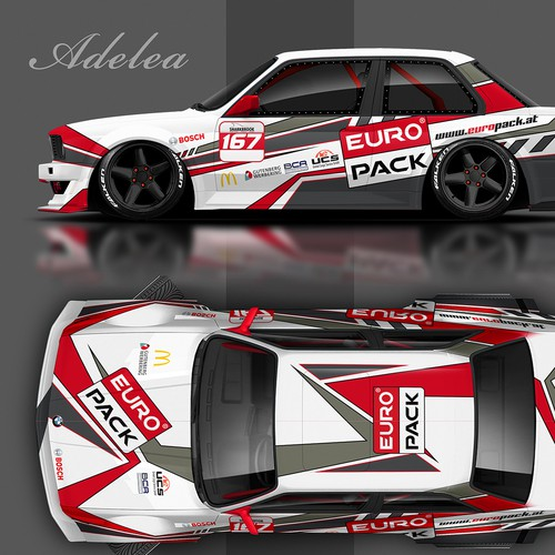 BMW racing livery EURO PACK
